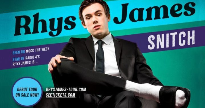 BBC2's Mock The Week's Rhys James takes new stand up show SNITCH on a UK tour