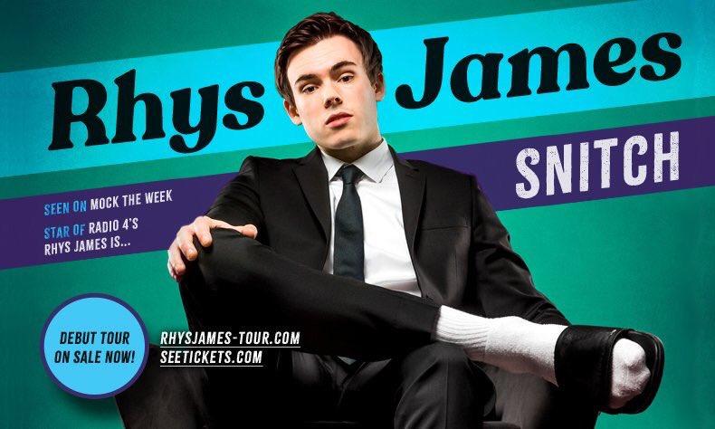 Rhys James, Tour, TotalNtertainment, Comedy, Leeds