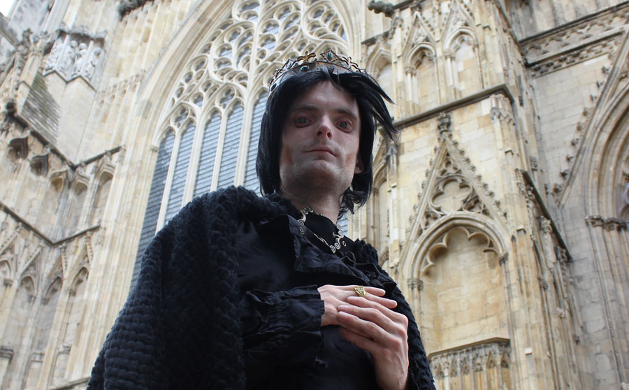 Richard lll, York Dungeon, Theatre, Performance, TotalNtertainment, Nick Trott