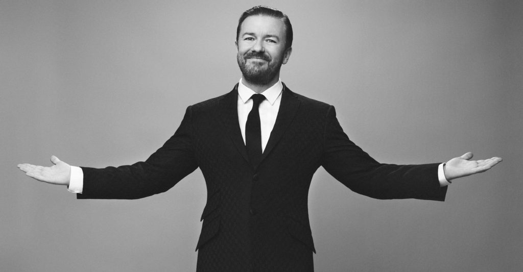 Ricky Gervais, Comedy, TotalNtertainment