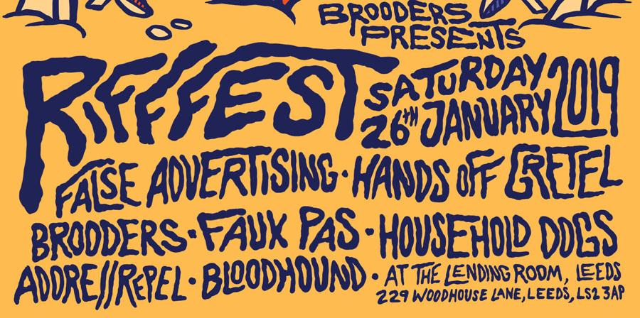 Rifffest, Leeds, The Brooders, Music, TotalNtertainment