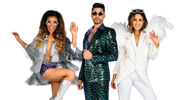 Supergroup of Dance Forms for Theatre Show 'Rip It Up The 70s'