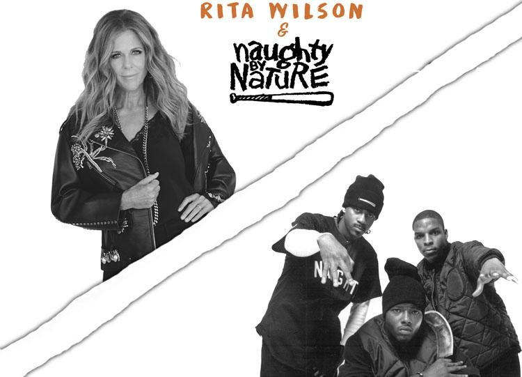 Rita Wilson, Music, Charity Single, Naughty By Nature, TotalNtertainment