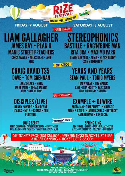Rize Festival, Sean Paul, totalntertainment, music, news