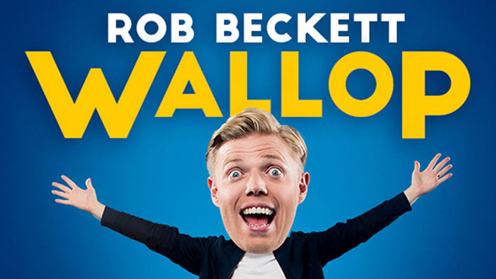 Rob Beckett, Wallop, Comedy, Stand Up, TotalNtertainment, Tour