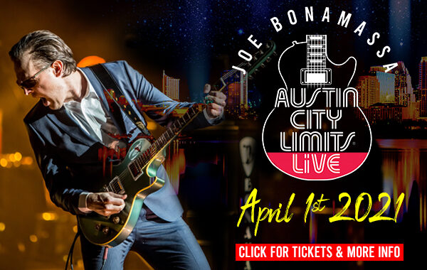 Joe Bonamassa announces one-night-only livestream