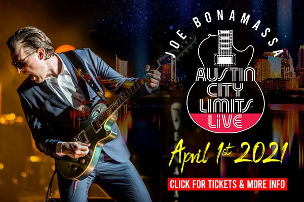 Joe Bonamassa, Music, Livestream, Texas, TotalNtertainment