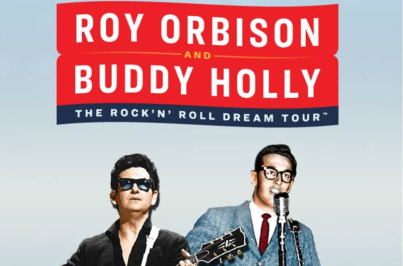 Roy Orbison, Buddy Holly, Rock n Roll, Tour, Hull, TotalNtertainment