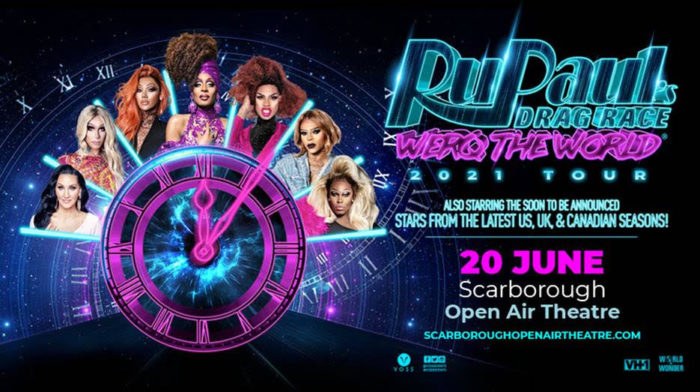 RuPaul's Drag Race, Music, TotalNtertainment, Scarborough, Open Air Theatre Music, TotalNtertainment, Scarborough, Open Air Theatre