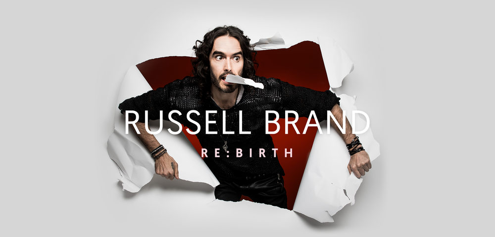 Russell Brand, Re-birth, Tour, Comedy, totalntertainment