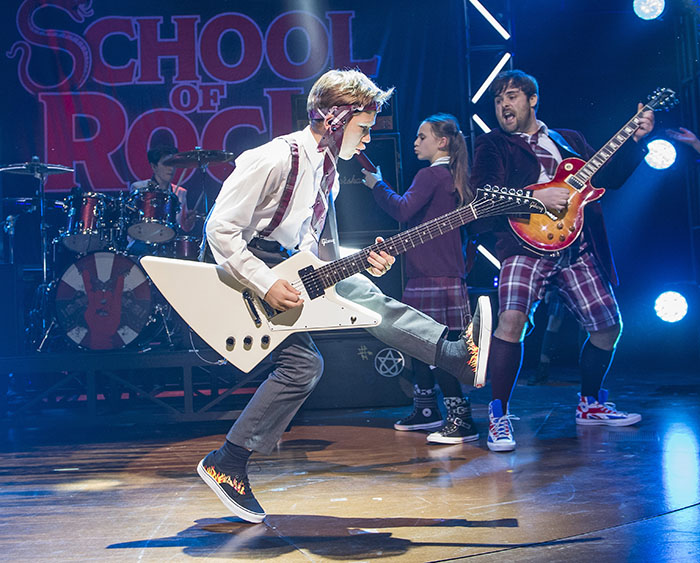 School Of Rock, Musical, Theatre, TotalNtertainment, Andrew Lloyd Webber, Manchester