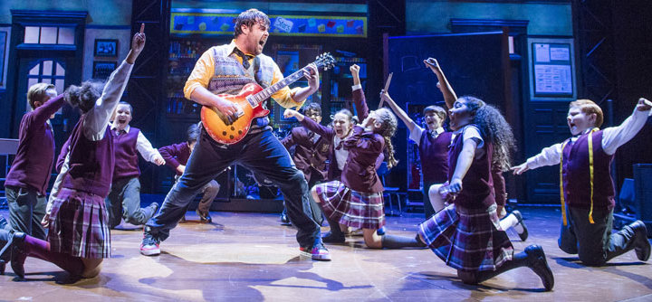 School of Rock The Musical is coming to Manchester