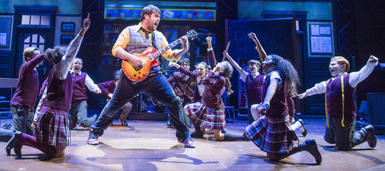 School of Rock, Musical, Theatre, Tour, Manchester, TotalNtertainment