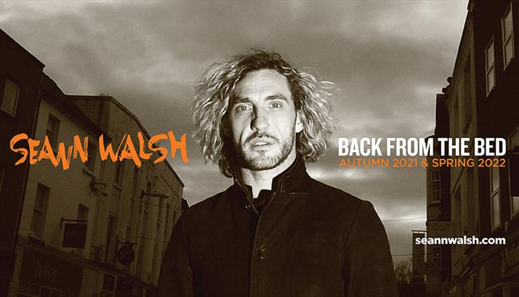 Seann Walsh, Comedy News, Tour, TotalNtertainment, Back From The Bed