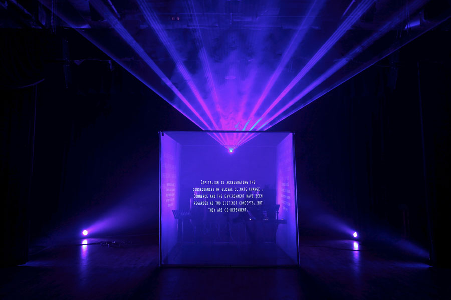 Climate Change In Sound Light Comes To Waterside