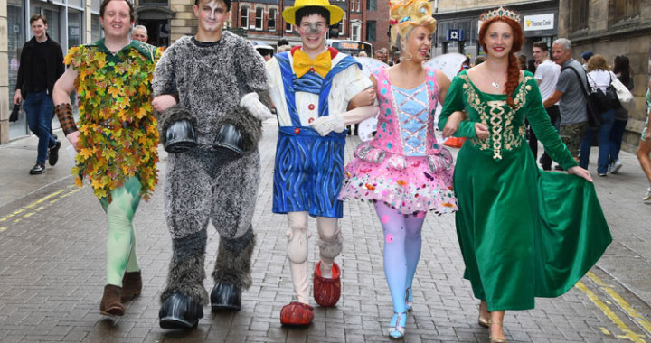 Shrek The Musical is performing for the first time in York