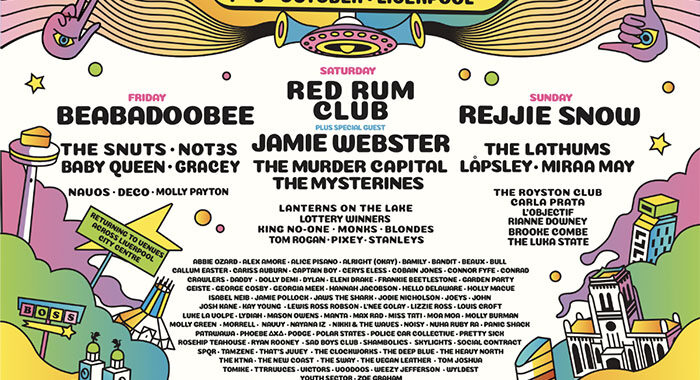 Beabadoobee and 100 more announced for Sound City