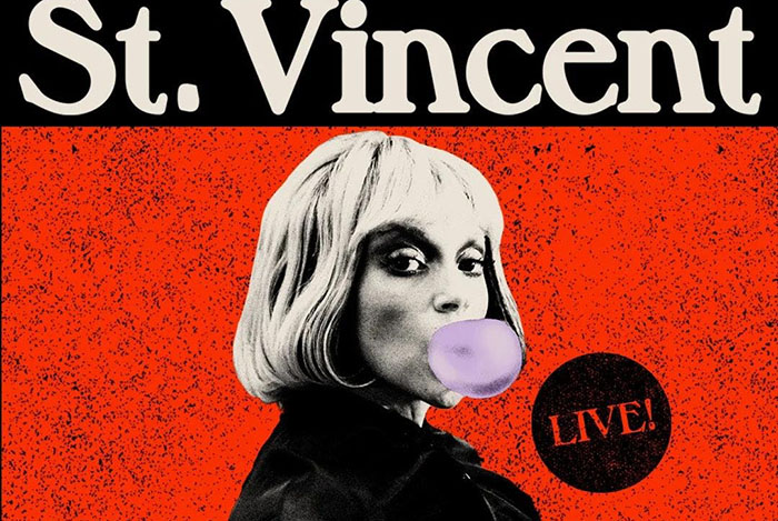 St Vincent, Down and Out Downtown, Music, Live Event, Live Stream, TotalNtertainment
