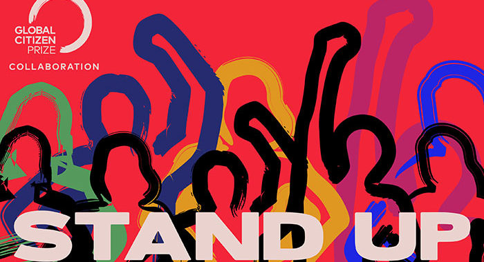 'Stand Up: A Global Citizen Prize Project' is out now