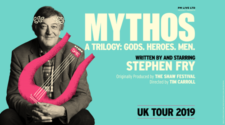 Stephen Fry, Tour, TotalNtertainment, Comedy, Manchester
