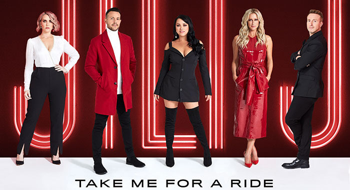 'Take Me For A Ride' the new single from Steps
