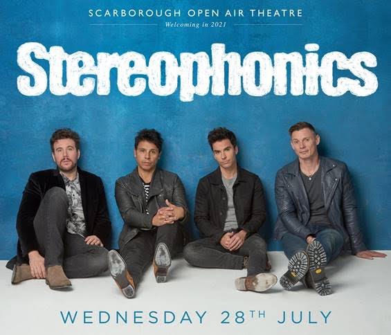 Stereophonics, Music, Scarborough, Open Air Theatre, TotalNtertainment