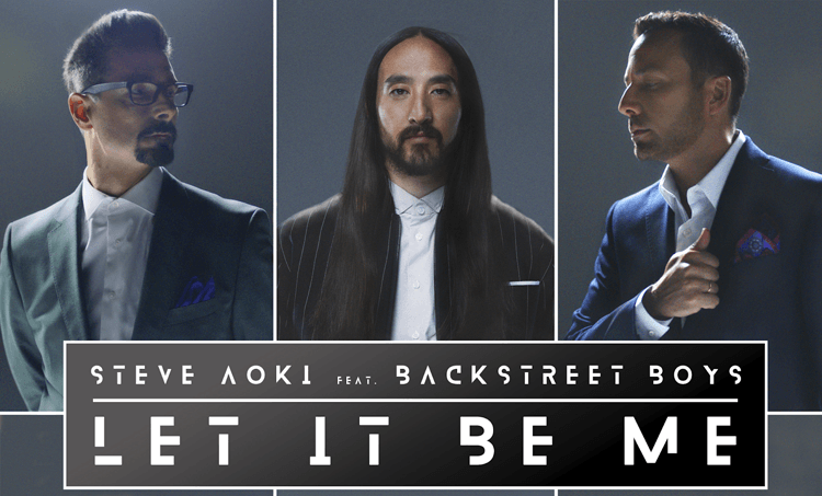Steve Aoki, Backstreet Boys, New Single, Music, TotalNtertainment
