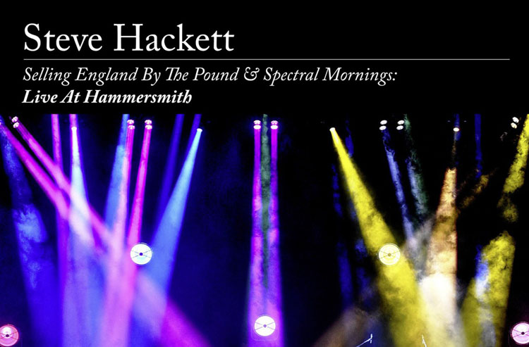 Steve Hackett, Selling England by the Pound, Music, Live Album, TotalNtertainment