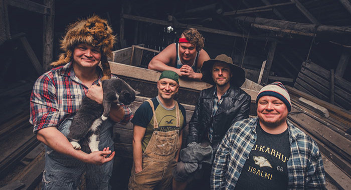 Steve'n'Seagulls and 10 Questions with ….
