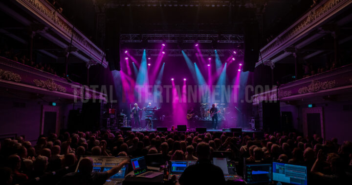 Steve Hacketts performs at Bradford's Concert Hall