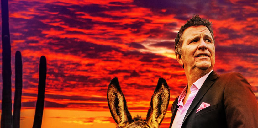Stewart Francis heads off into the 'Punset'