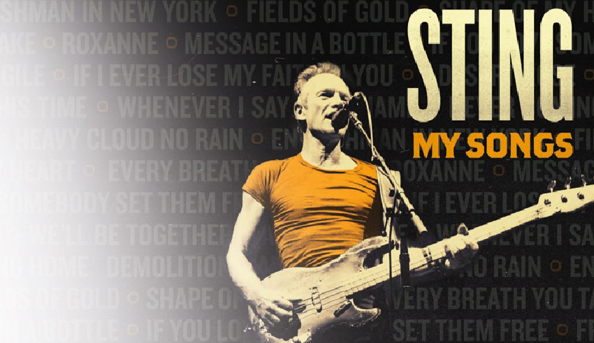 Sting, New Album, My Songs, TotalNtertainment, Music