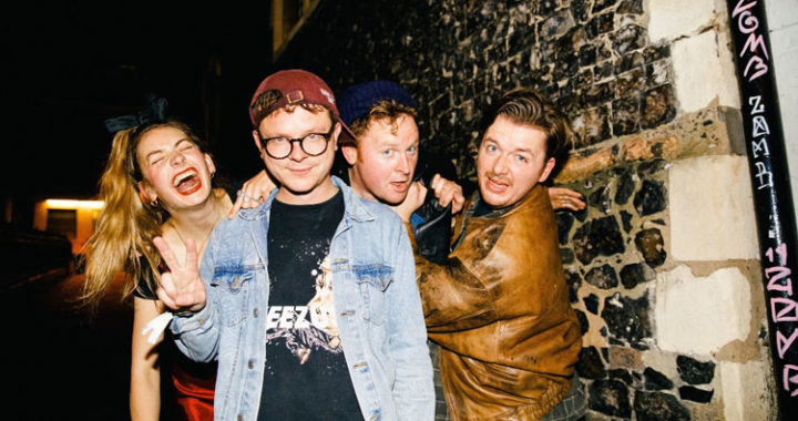 Punk-pop four piece SuperGlu share 'Soil'
