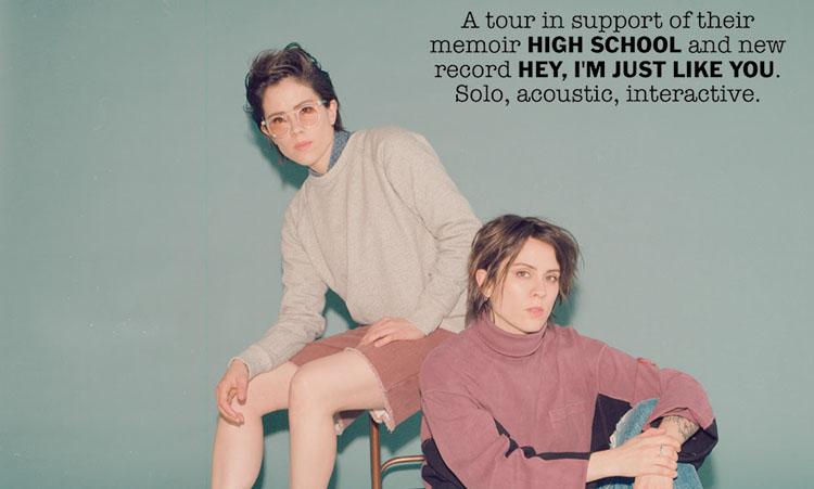 Tegan and Sara, Music, Tour, Manchester, TotalNtertainment
