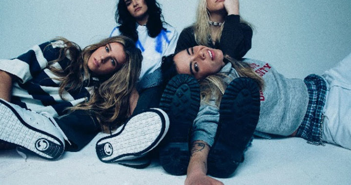 The Aces share video for recent single