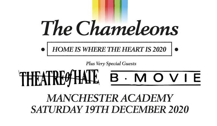 The Chameleons, Manchester, Music, TotalNtertainment