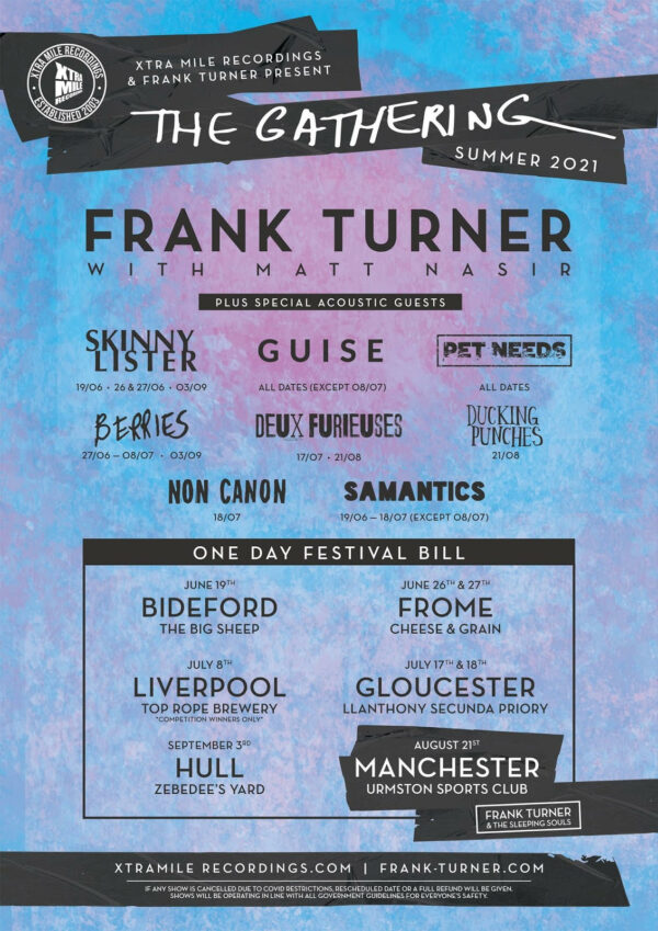 The Gathering, One Day Festival, Frank Turner, Music, TotalNtertainment