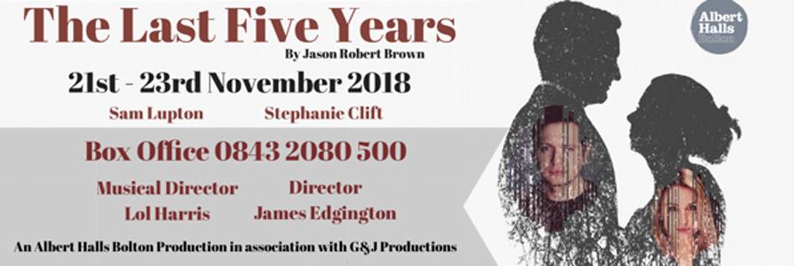 The Last Five Years, Theatre, Bolton, TotalNtertainment