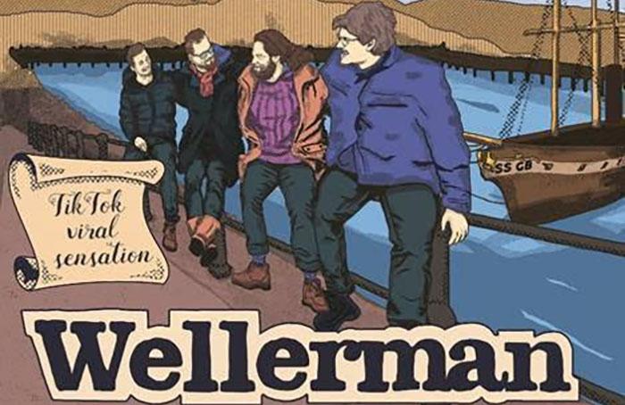 The Longest Johns, Music, Wellerman, New Release, Sea Shanty