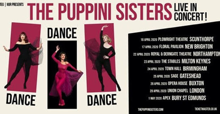 The Puppini Sisters, on tour