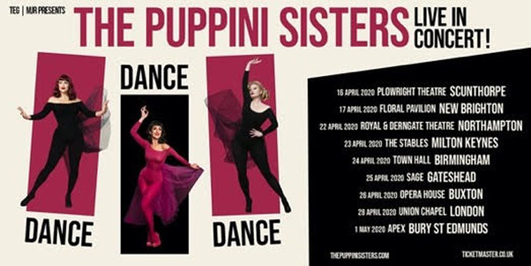The Puppini Sisters, Music, Theatre, Tour, New Brighton, TotalNtertainment