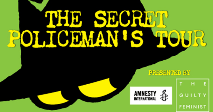 Just 6 days until The Secret Policeman's Tour comes to Manchester's Palace Theatre