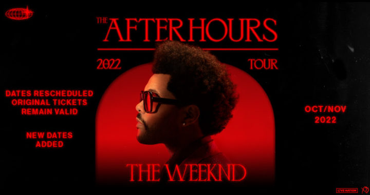 'After Hours' world tour announced The Weeknd