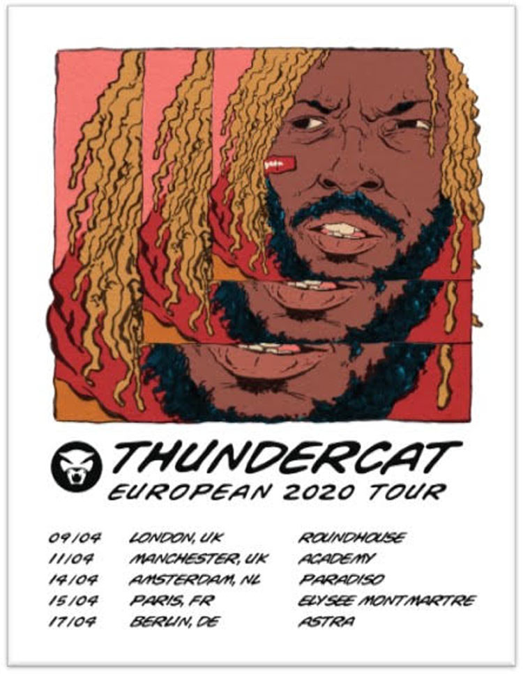 Thundercat, Music, Manchester, Tour, TotalNtertainment