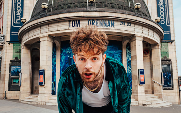 Tom Grennan, Music, O2 Academy, Live Stream London