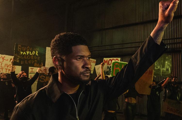 Usher, I Cry, Music, New Single, Charity