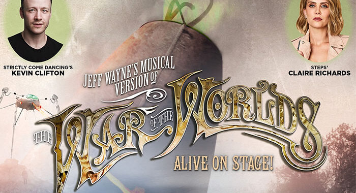 'Life Begins Again' tour War of The Worlds