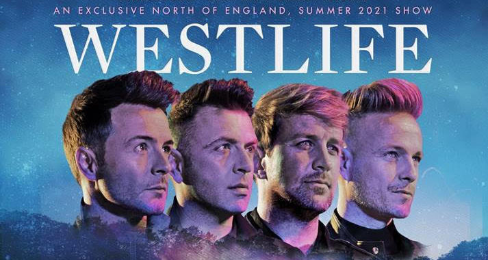 Westlife announce Scarborough Open Air Theatre