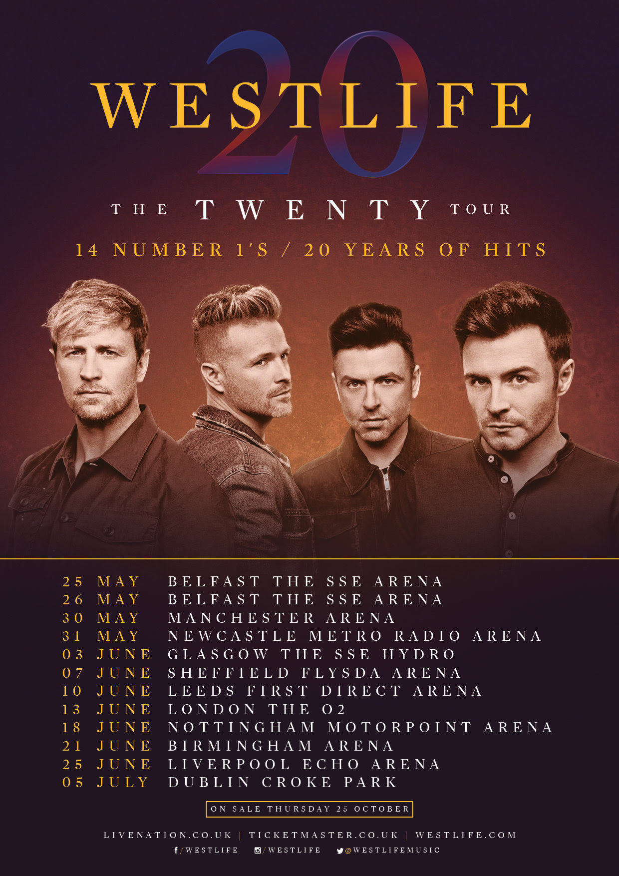 Westlife, Tour, TotalNtertainment, Music, Sheffield
