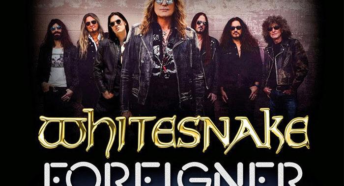 Whitesnake and Foreigner announce Tour 2022